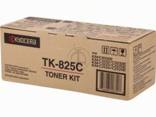 Kyocera TONER CIANO TK-825C KM-C2520/3225/3232/2525E/3232E/4035E (7000 PAG) - 1T02FZCEU0