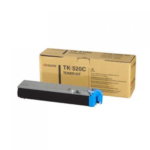 Kyocera TONER KIT CIANO TK-520C FS-C5015 (4.000 PAGINE A4 COPERTURA 5 ) (1PZ) - 1T02HJCEU0