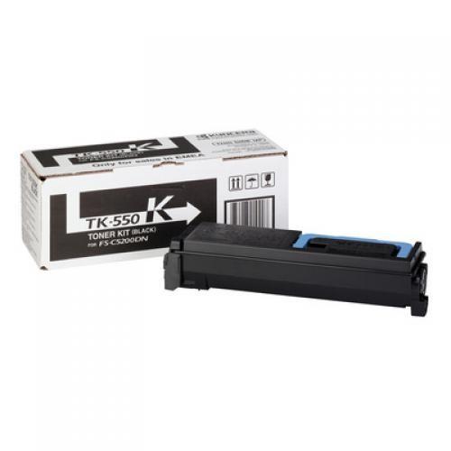 KYOCERA TK-550K Original Nero 1 pezzo(i) cod. 1T02HM0EU0