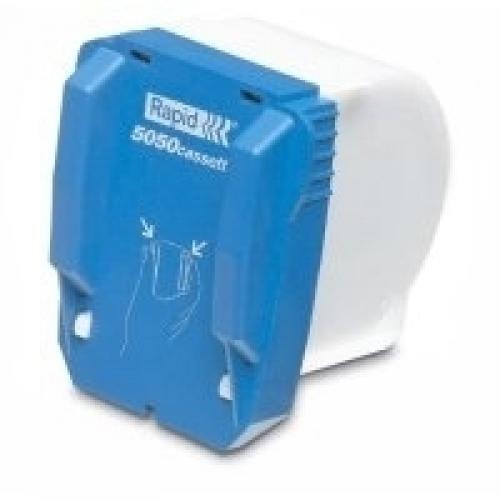 Rapid Cassette di ricarica  5050 -- 5000 punti zincati 5M da utilizzare per la  5050E  cucitura da 2 a 50 fogli (Box) - 20993500