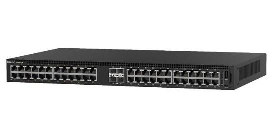 DELL 1148P-ON Gestito L2 Gigabit Ethernet (10/100/1000) Nero 1U Supporto Power over Ethernet (PoE) cod. 210-AJIV