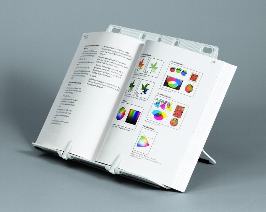 Fellowes Booklift porta documenti Plastica Argento cod. 21140