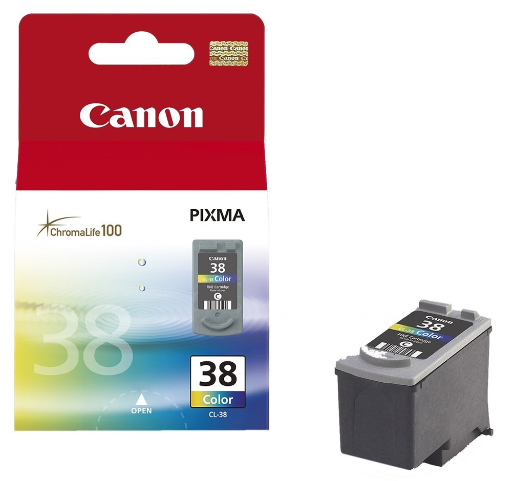 Canon CL-38 Original Ciano, Magenta, Giallo 1 pezzo(i) cod. 2146B001