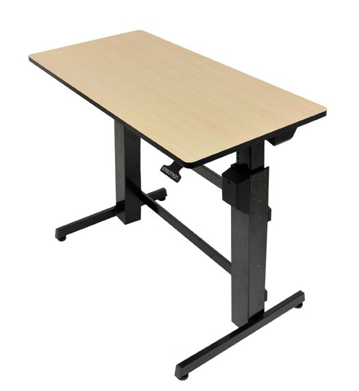 Ergotron WorkFit-D, Sit-Stand Desk scrivania per computer Sabbia cod. 24-271-928