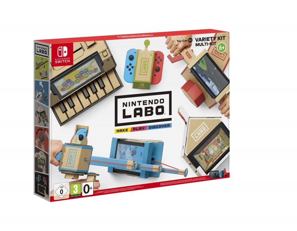 Nintendo HAC LABO VARIETY SET - 2522049