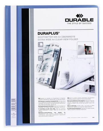 Durable DURAPLUS A4 Blu, Trasparente cod. 257906