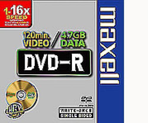 Maxell DVD-R 4,7GB 16x Slimcase 10pk 10 pezzo(i) cod. 275592