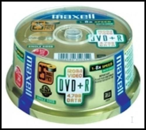 Maxell DVD+R 8x Spindle 4,7 GB 50 pezzo(i) cod. 275640