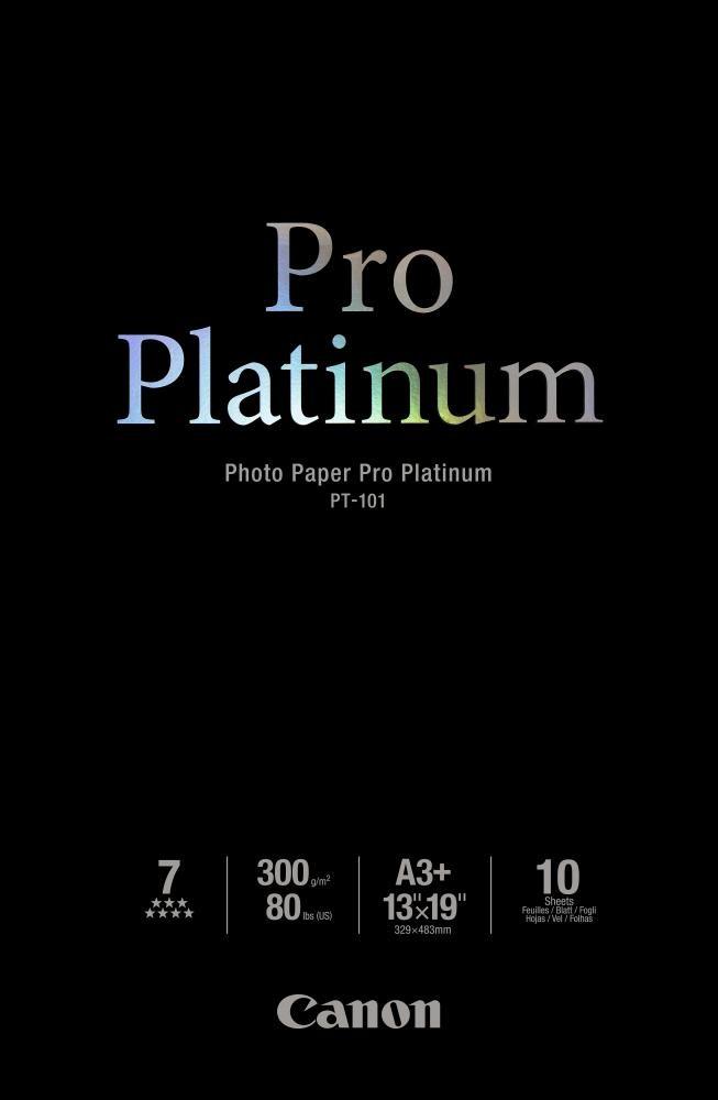 Canon PT-101 - Pro Platinum Photo A3, 10 sheets - 2768B018