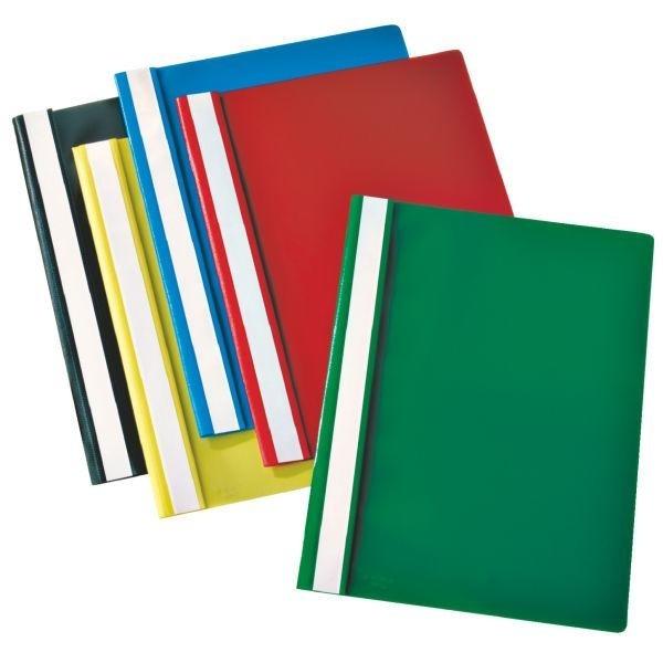 Esselte Report File Green cartellina con fermafoglio Verde Polipropilene (PP) cod. 28317