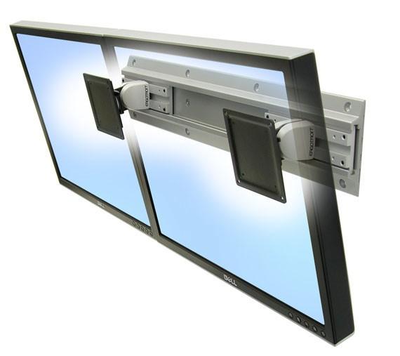 "Ergotron Neo-Flex Dual Monitor Wall Mount 61 cm (24"") Argento cod. 28-514-800"