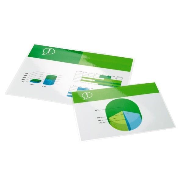 GBC Pouch per plastificazione documenti A4 2x125mic lucide (100) cod. 3200723