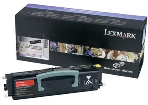 Lexmark E33X, E34X High Yield Toner Cartridge Original Nero cod. 34040HW