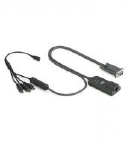 HP KVM CAT5 1-pack Serial Interface Adapter - 373035-B21