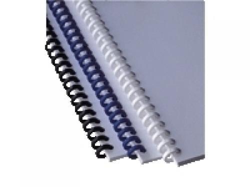 GBC Dorsi ClickBind bianchi 8 mm (50) cod. 388002E