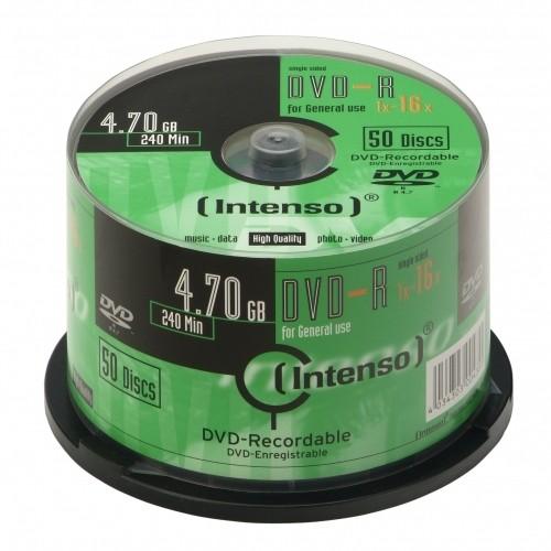Intenso DVD-R 4.7GB, 16x 4,7 GB 50 pezzo(i) cod. 4101155
