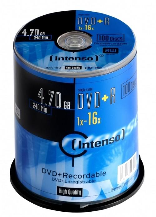 Intenso 4111156 DVD vergine 4,7 GB DVD+R 100 pezzo(i) cod. 4111156