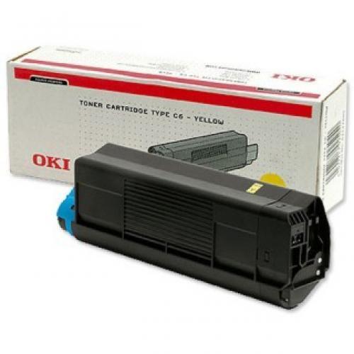 OKI Yellow Toner Cartridge C5100/C5300 - 42127405