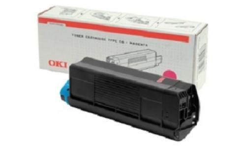 OKI Magenta Toner Cartridge C5100/C5300 - 42127406