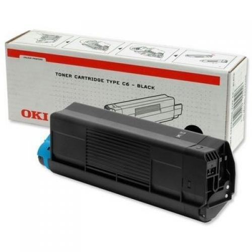 OKI Black Toner Cartridge C5100/C5300 - 42127408
