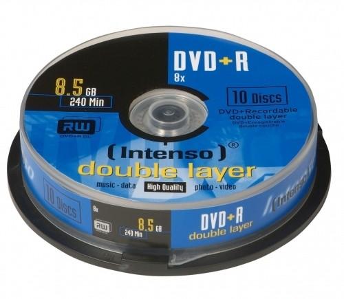 Intenso DVD+R 8.5GB, DL, 8x 8,5 GB 10 pezzo(i) cod. 4311142