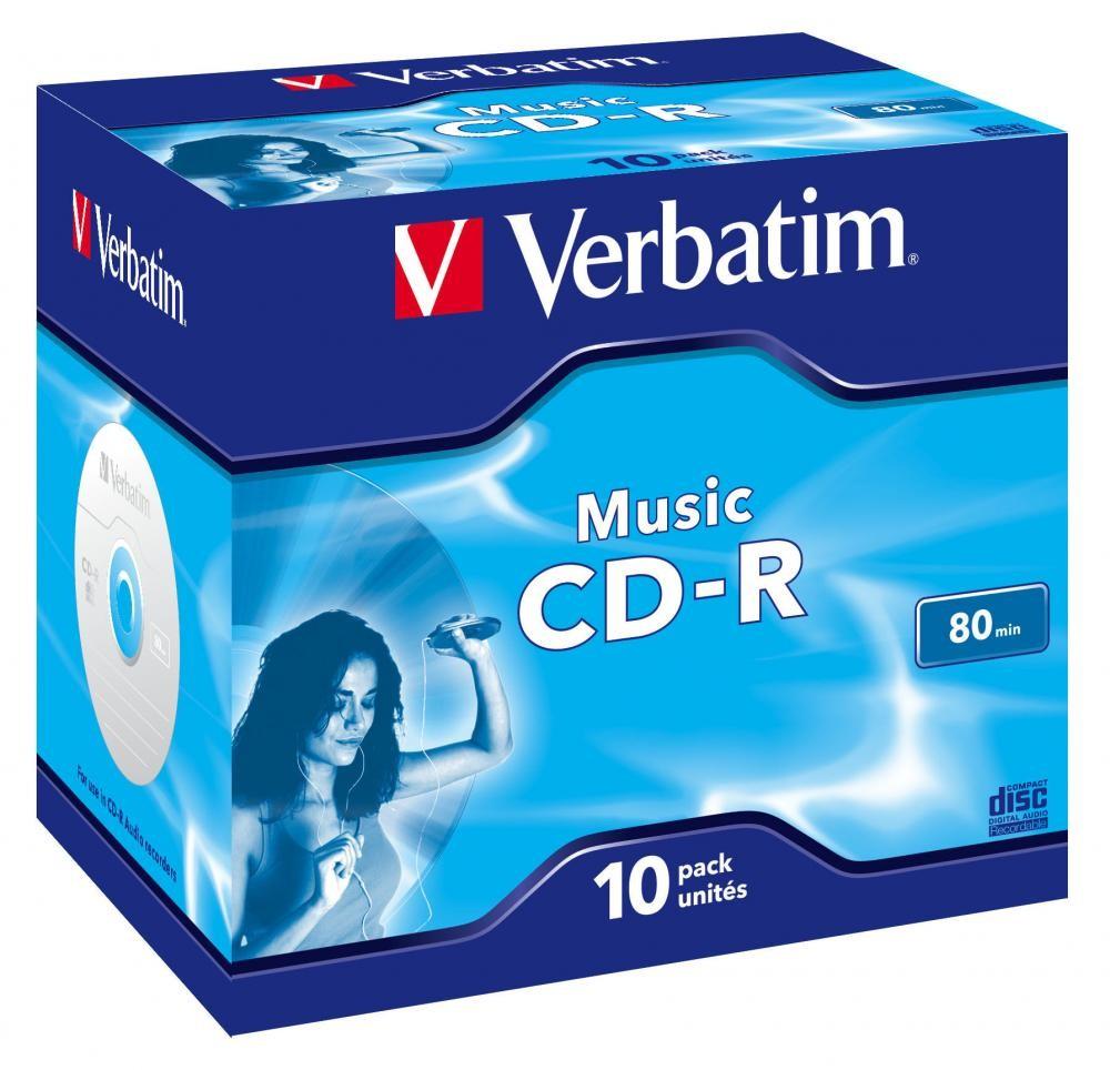 Verbatim Music CD-R 700 MB 10 pezzo(i) cod. 43365