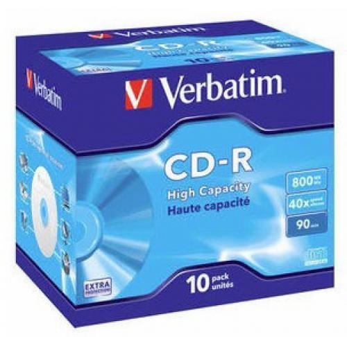 Verbatim 43428 CD vergine CD-R 800 MB 10 pezzo(i) cod. 43428