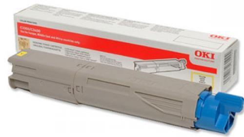 OKI 43459329 cartuccia toner Original Giallo 1 pezzo(i) cod. 43459329