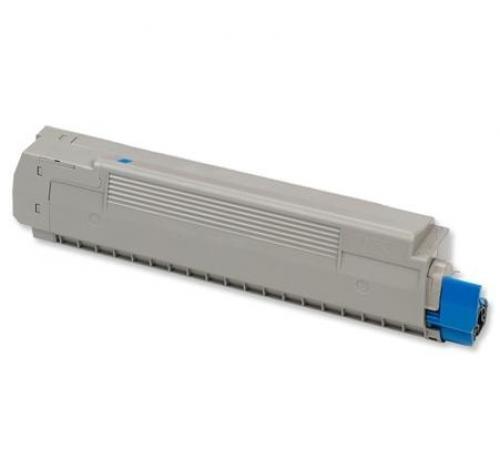 OKI Cyan Toner Cartridge for C8600 - 43487711