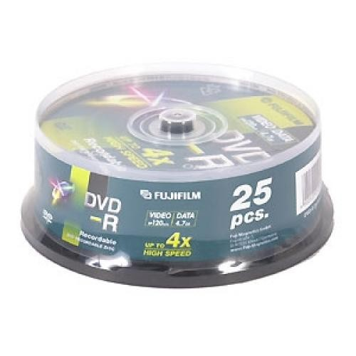 Fujifilm DVD-R 4,7Gb 25-spindle 4x - 47495