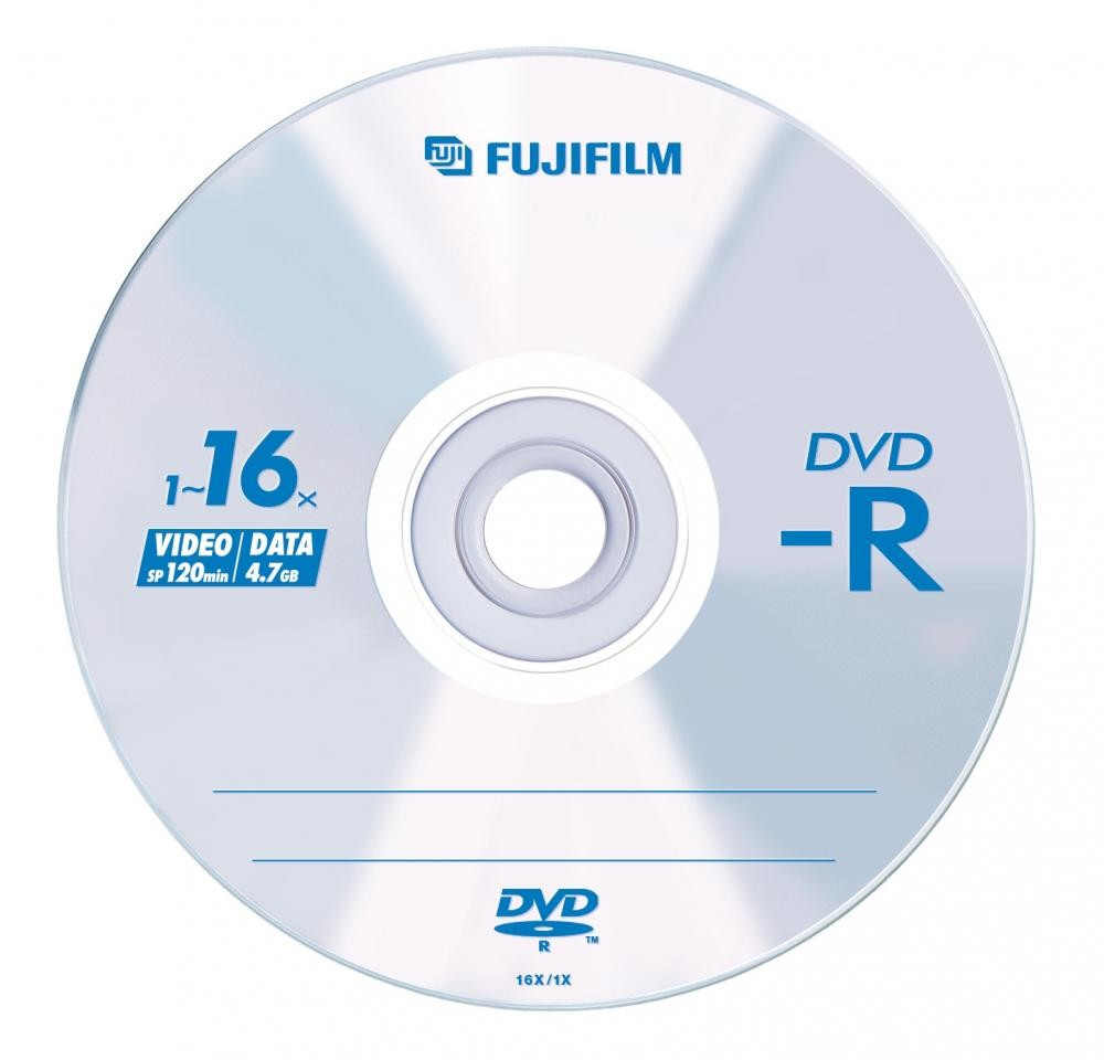 Fujifilm DVD-R 4,7Gb 50-spindle 16x 50 pezzo(i) cod. 47589