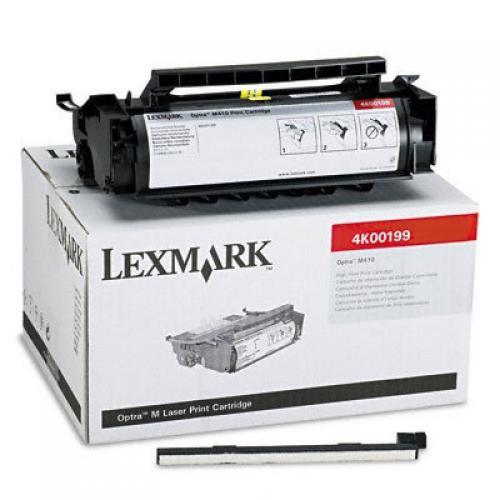 Lexmark Optra M410 10K Printcartridge Original Nero 1 pezzo(i) cod. 4K00199