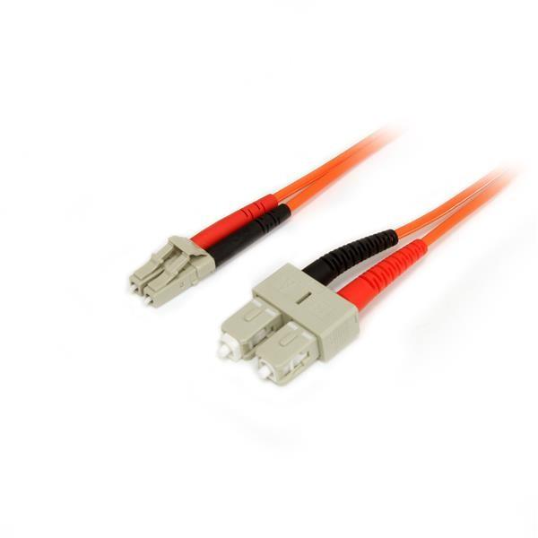 StarTech.com 50FIBLCSC5 cavo a fibre ottiche 5 m OM2 LC SC Arancione cod. 50FIBLCSC5