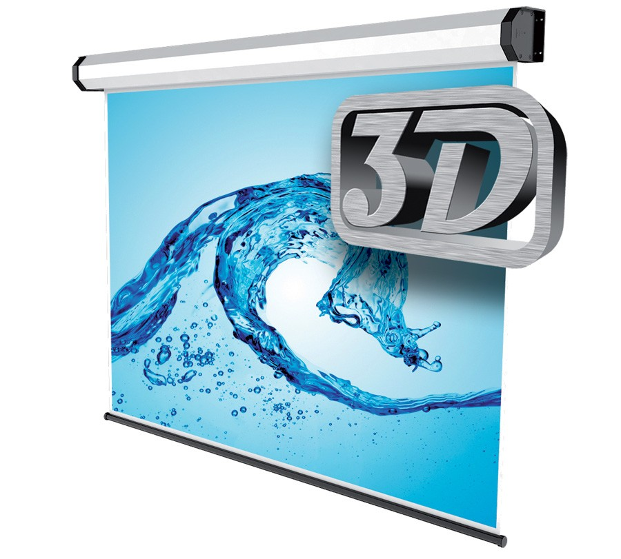 "Sopar Electric Professional 3D schermo per proiettore 3 m (118"") 4:3 Bianco cod. 5241-3D"
