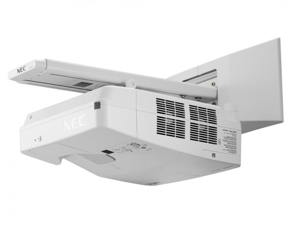 NEC UM301X videoproiettore 3000 ANSI lumen 3LCD XGA (1024x768) Proiettore montato a muro Bianco cod. 60003802