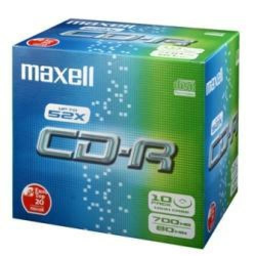 Maxell CD-R 80XL 52X 10-Pack 700 MB 10 pezzo(i) cod. 624003