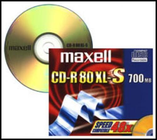 Maxell CD-R 700Mb 52x cod. 624006