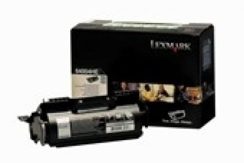 Lexmark High Yield Return Programme Cartridge, T64x Original Nero cod. 64004HE
