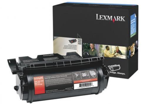 Lexmark T640, T642, T644 High Yield Print Cartridge Original Nero cod. 64040HW