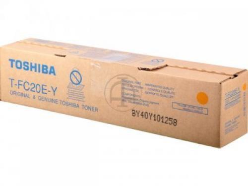 Toshiba T-FC20EY Original Giallo 1 pezzo(i) cod. 6AJ00000070