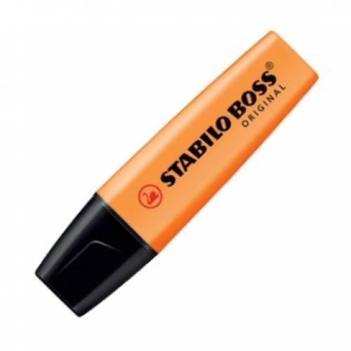 STABILO BOSS Original evidenziatore 10 pezzo(i) Arancione cod. 70/54