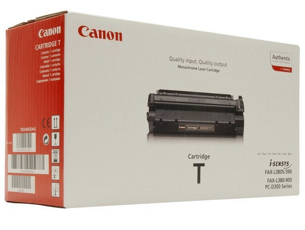 Canon Toner T Original Nero 1 pezzo(i) cod. 7833A002