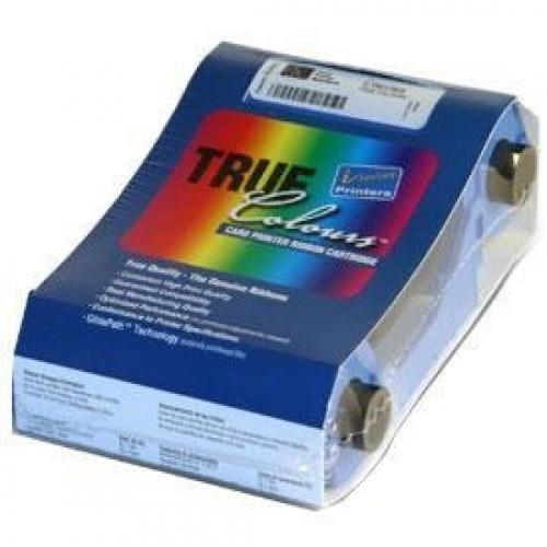 Zebra TrueColours® Resin black fP310f - 1500 nastro per stampante 1500 pagine cod. 800015-301
