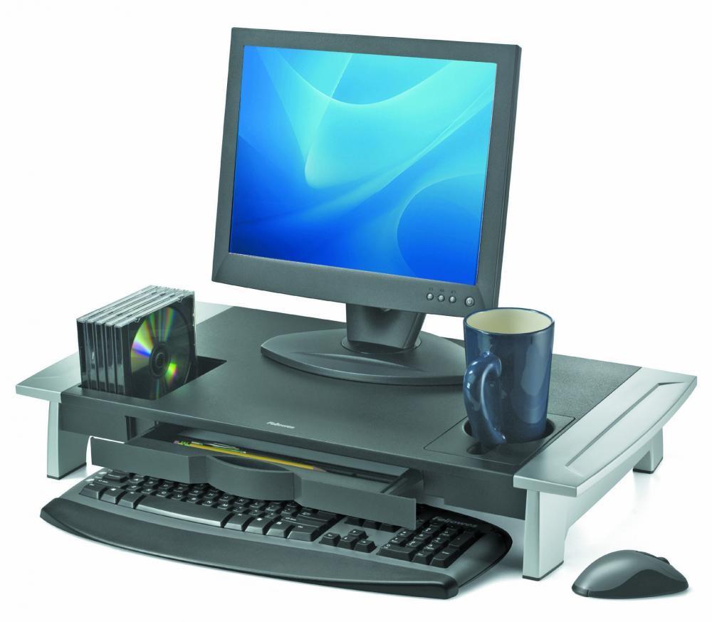 Fellowes 8031001 supporto da tavolo per Tv a schermo piatto Nero cod. 8031001