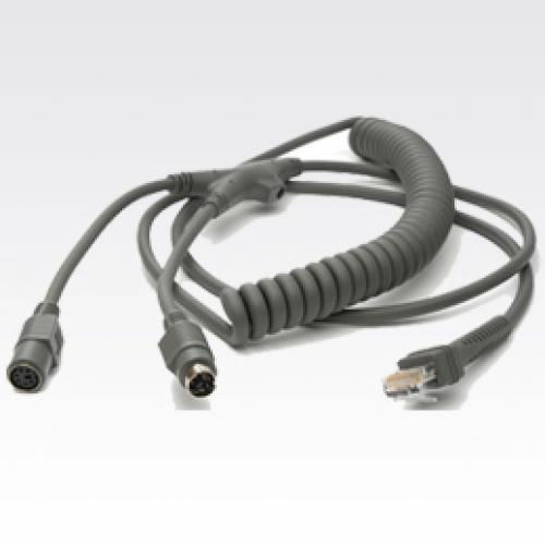 Datalogic KBW, 6MDIN, P&S, E/P-POT, Coil, 12' cavo per tastiera, video e mouse 3,6 m cod. 8-0741-17