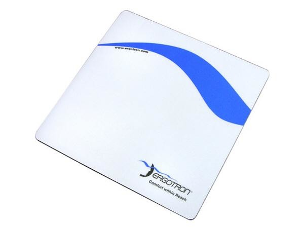 Ergotron Mouse Pad Blu, Bianco cod. 85-025-079