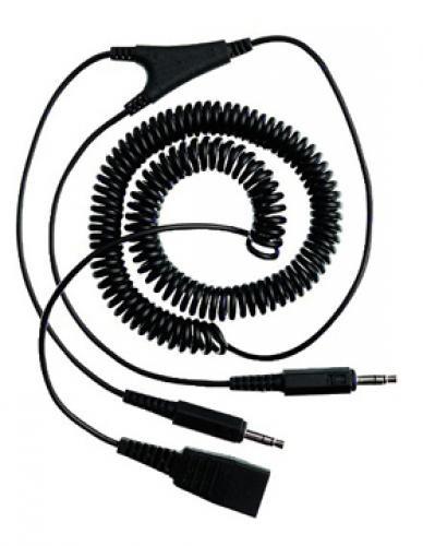 Jabra/GN Netcom PC cord - QD to 2x3.5mm - 8734-599