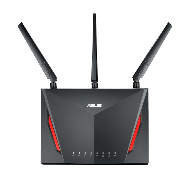 ASUS RT-AC86U router wireless Gigabit Ethernet Dual-band (2.4 GHz/5 GHz) Nero cod. 90IG0401-BM3000