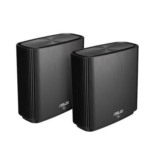 ASUS ZenWiFi AC (CT8) router wireless Banda tripla (2.4 GHz/5 GHz/5 GHz) Gigabit Ethernet Nero cod. 90IG04T0-MO3R20