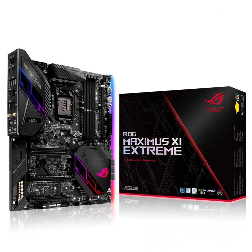 ASUS ROG MAXIMUS XI EXTREME scheda madre LGA 1151 (Presa H4) ATX esteso Intel Z390 cod. 90MB0XQ0-M0EAY0